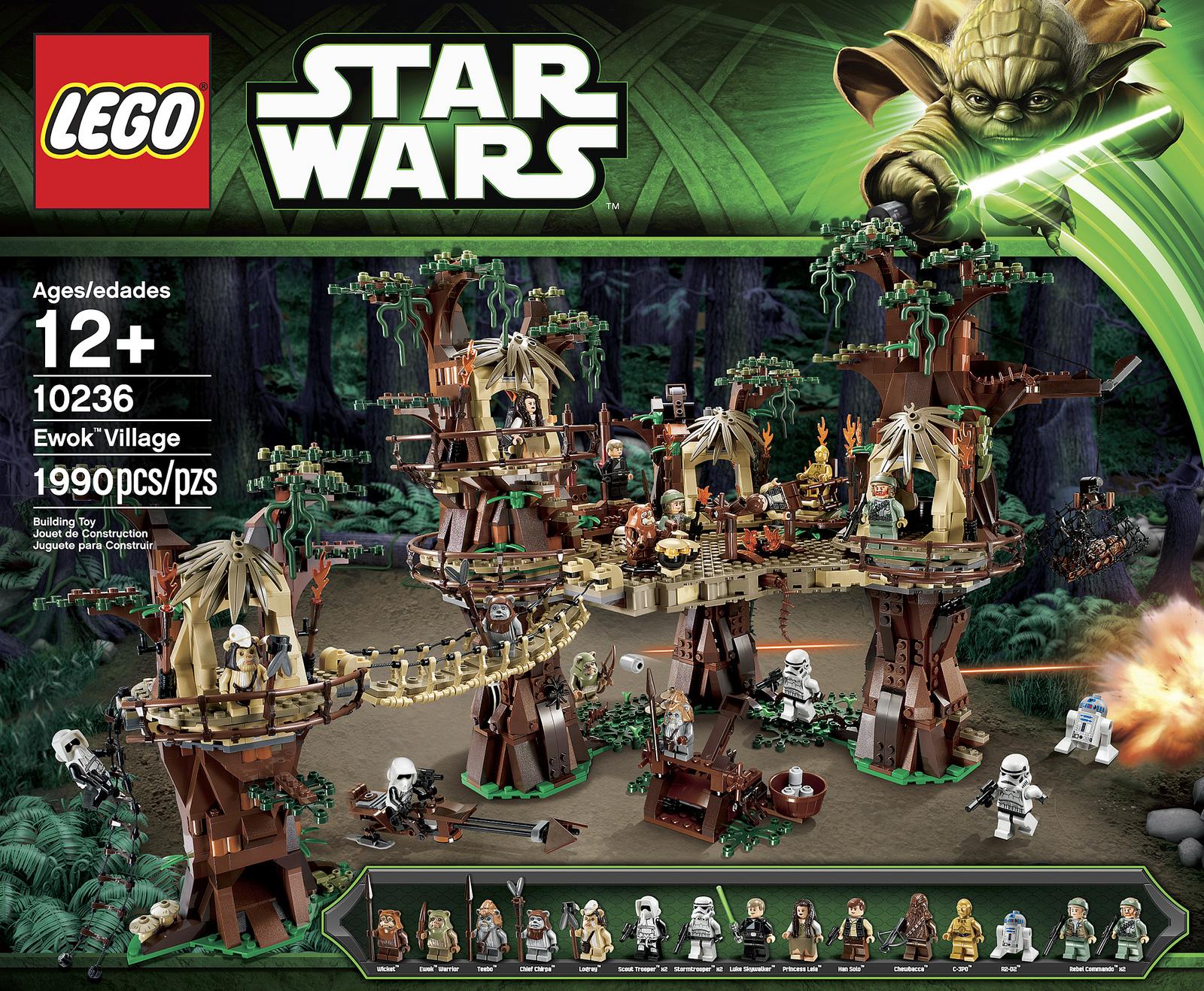 lego star wars ewok village 10236 fully revealed w video amp photos