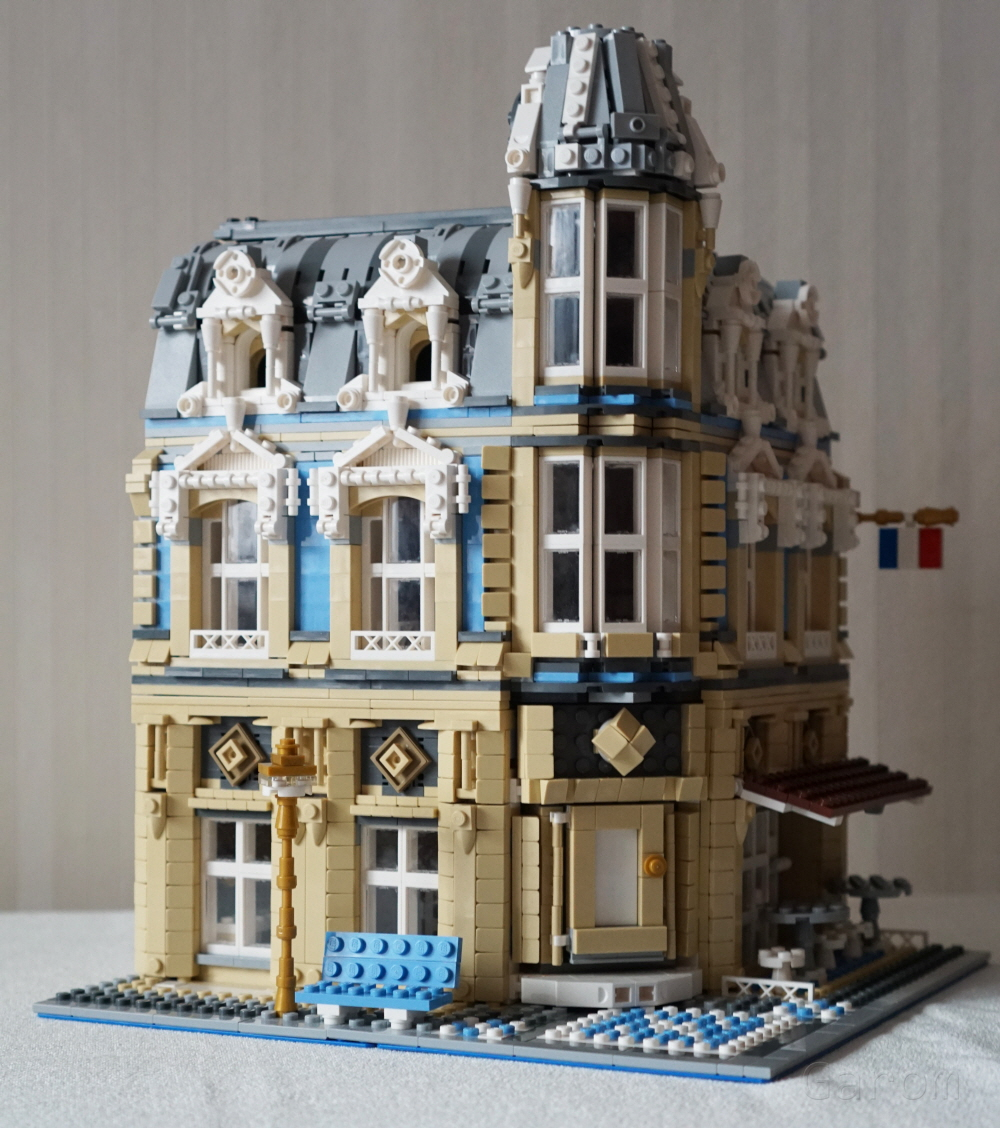 LEGO MOC 11989 10214 Tower Bridge Alternative build  Modular     862
