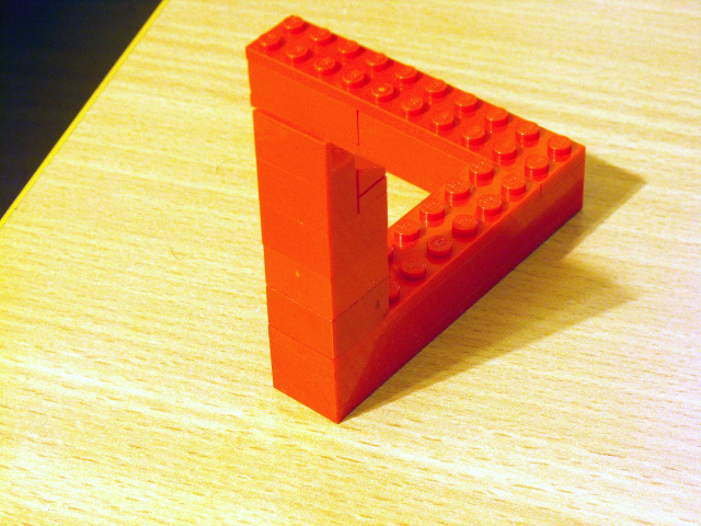 Build Your Own Penrose Triangle The Brothers Brick The