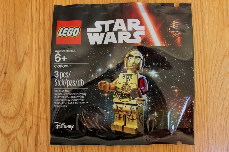 C-3PO polybag, by Lobot, on Eurobricks