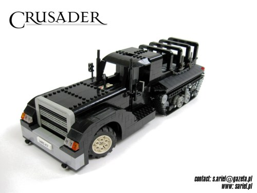 Lego halftrack hotrod