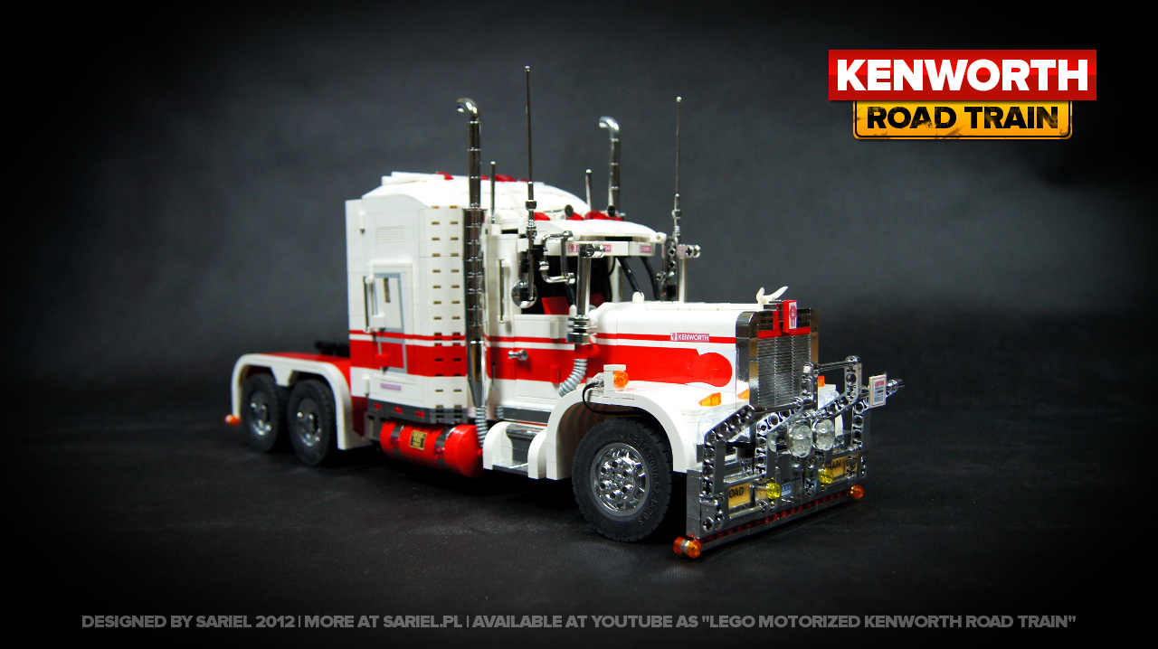 Kenworth Road Train by Sariel