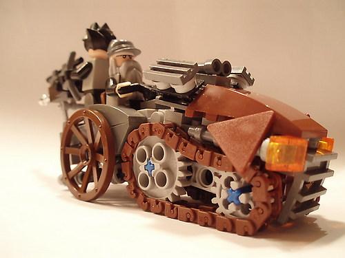 LEGO Steampunk Halftrack