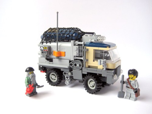 Remote Controlled Mini Truck The Brothers Brick The