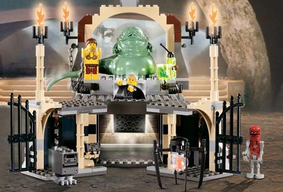 LEGO Star Wars 4480 Jabba's Palace