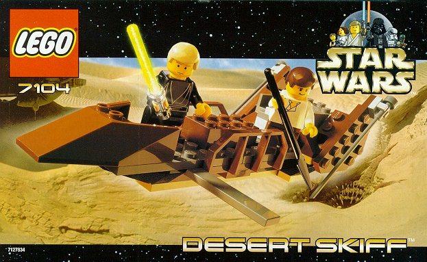 LEGO Star Wars 2000 7104 Desert Skiff