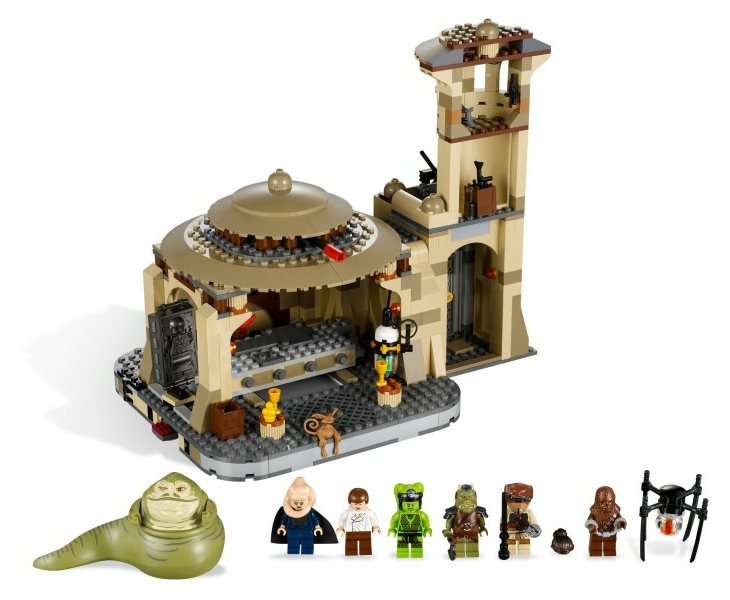 LEGO Star Wars 2012 9516 Jabba's Palace
