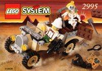 LEGO Adventurers Desert 2995 Adventurers Car