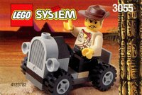 LEGO Adventurers Desert 3055 Adventurers Car