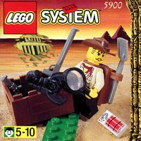 LEGO Adventurers Desert 5900 Adventurer - Johnny Thunder