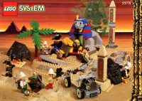 LEGO Adventurers Desert 5978 Sphinx Secret Surprise