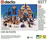 LEGO Adventurers Desert Dacta 9377