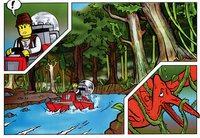 LEGO Adventurers Dino Island 5911 5912 5913 5914 comic