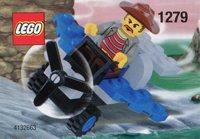 LEGO Adventurers Dino Island 1279 Cunningham's Dinofinder