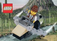LEGO Adventurers Dino Island 1281 Mike's Dinohunter