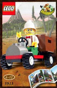 LEGO Adventurers Dino Island 5913 Dr. Kilroy's Car