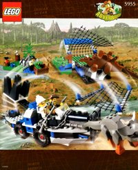 LEGO Adventurers Dino Island 5955 All Terrain Trapper