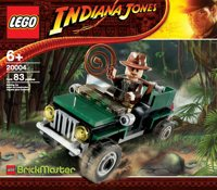 20004 Indiana Jones Jeep