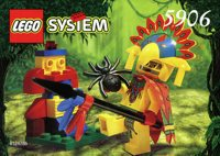 LEGO Adventurers Jungle 5906 Ruler of the Jungle