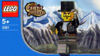 LEGO Adventurers 2003 Orient Expedition 3381 Sam Sinister