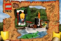 LEGO Adventurers 2003 Orient Expedition 7410 Jungle River