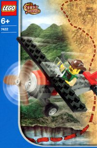LEGO Adventurers 2003 Orient Expedition 7422 Red Eagle