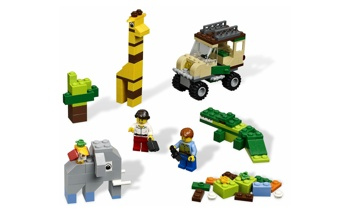 LEGo Basic Bricks and More 4637 Safari Building Set