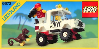 LEGO Town 6672 Safari Off-Road Vehicle