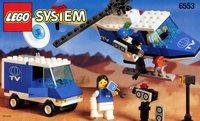 LEGO Outback 1997 6553 Crisis News Crew