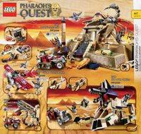LEGO catalog 2011 Pharaoh's Quest