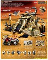 LEGO catalog Shop At Home 2011 Pharaoh's Quest