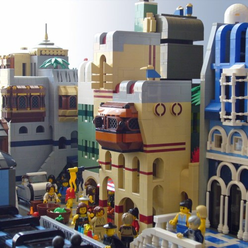 Futuristic LEGO city by T brick