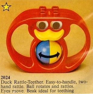 Recenzja: 024 Duck Rattle-Teether & 2020 Duck Rattle with Handles