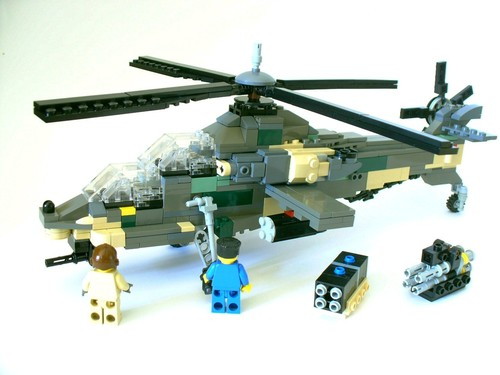SAAF Rooivalk in LEGO