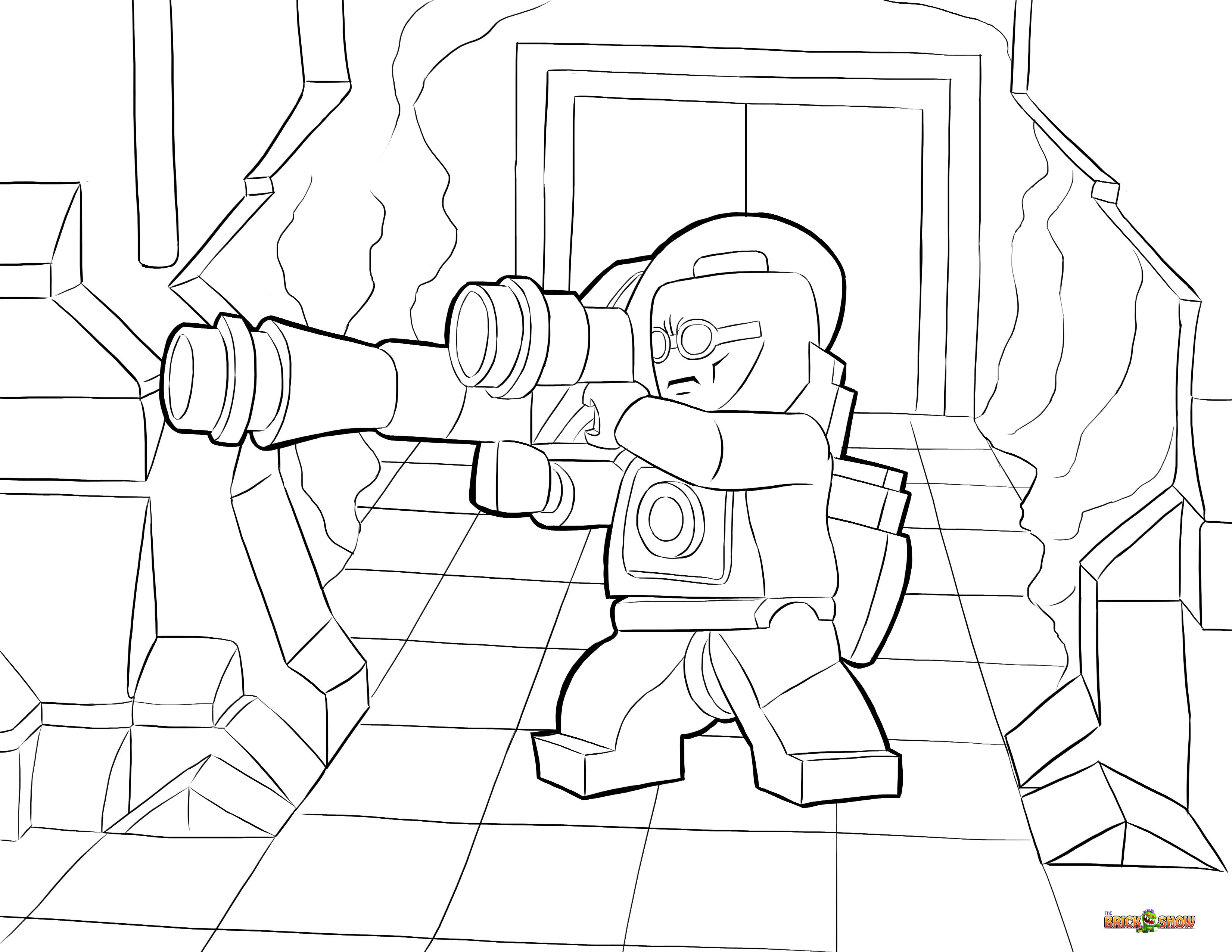lego dc universe super heroes coloring page lego lego mr freeze
