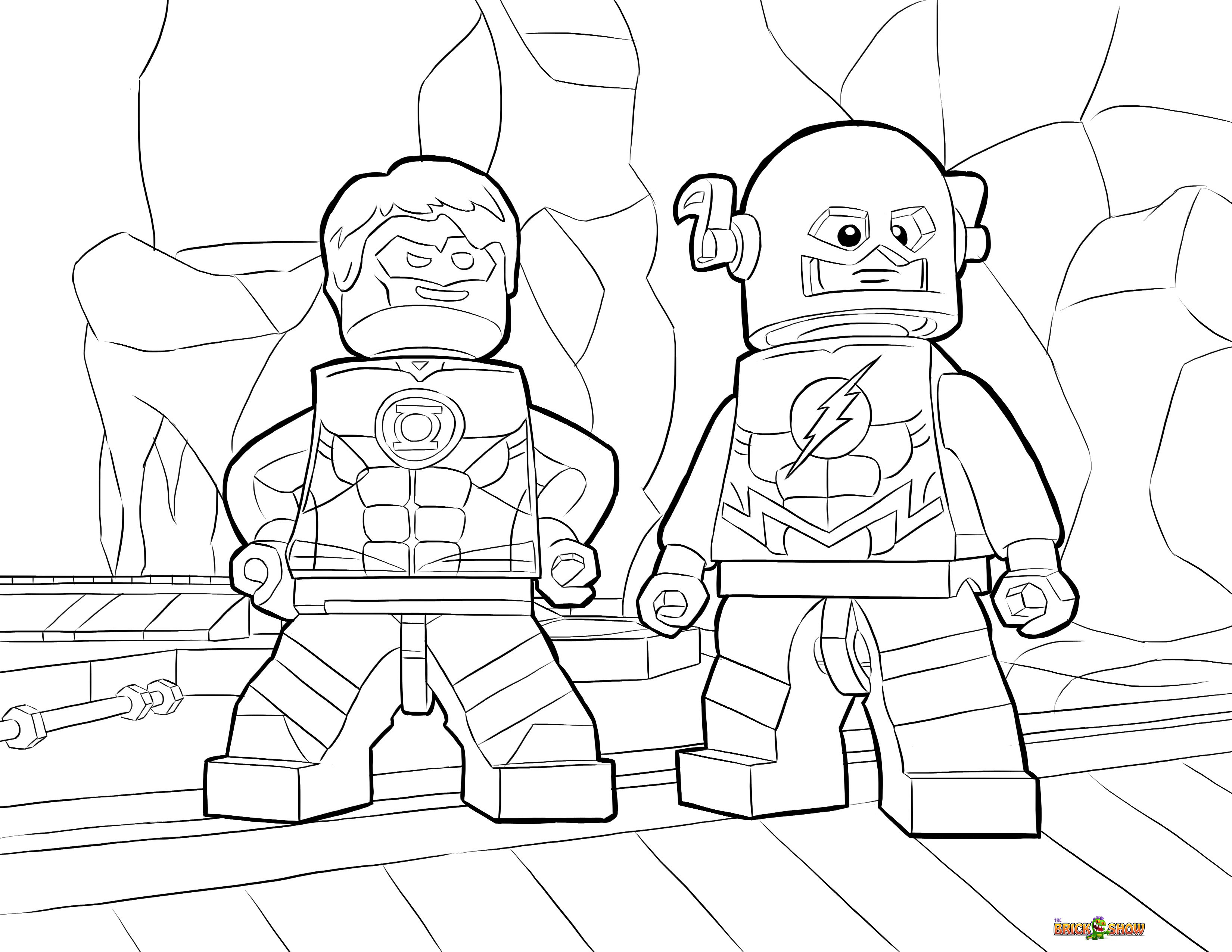 they also have coloring pages for other various lego themes as well