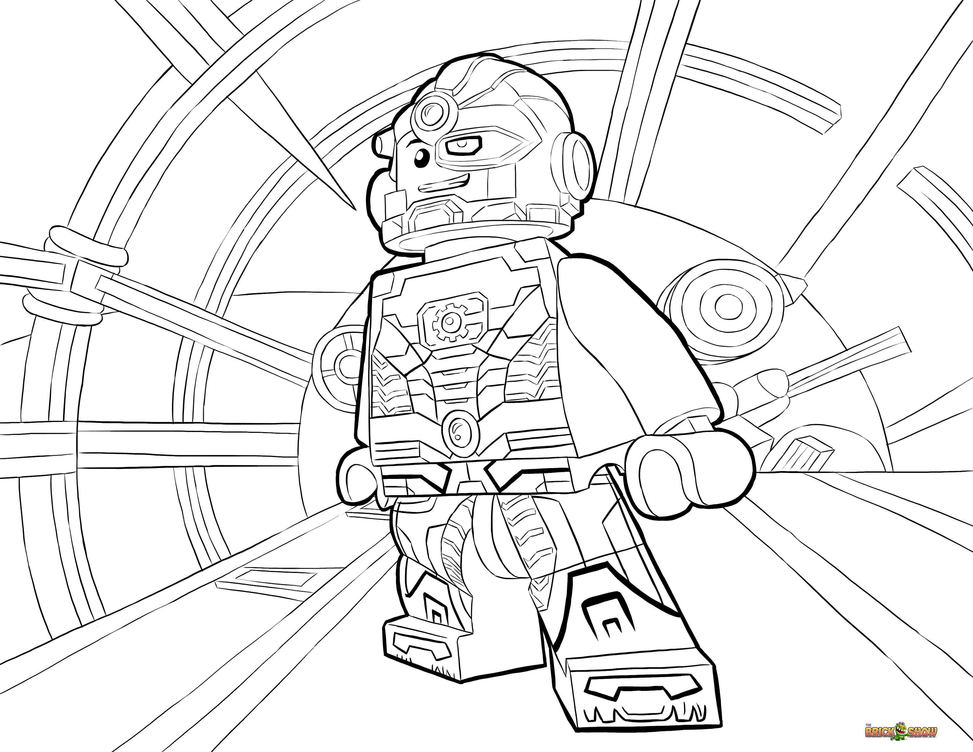 lego dc super heroes coloring pages car tuning