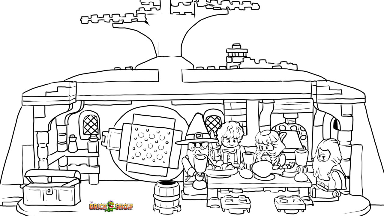 lego hobbit coloring pages free printable lego hobbit color sheets