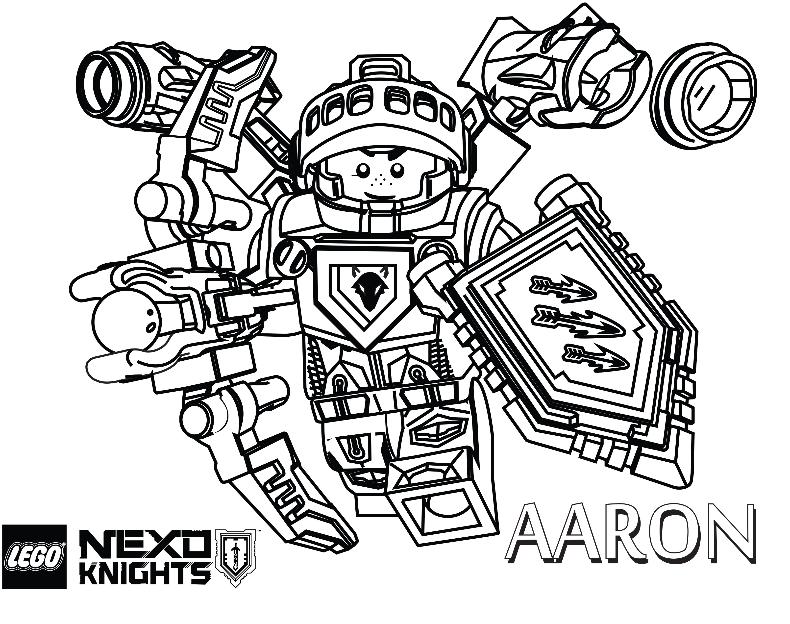 Free Coloring Pages Download Lego Nexo Knights The Brick Fan