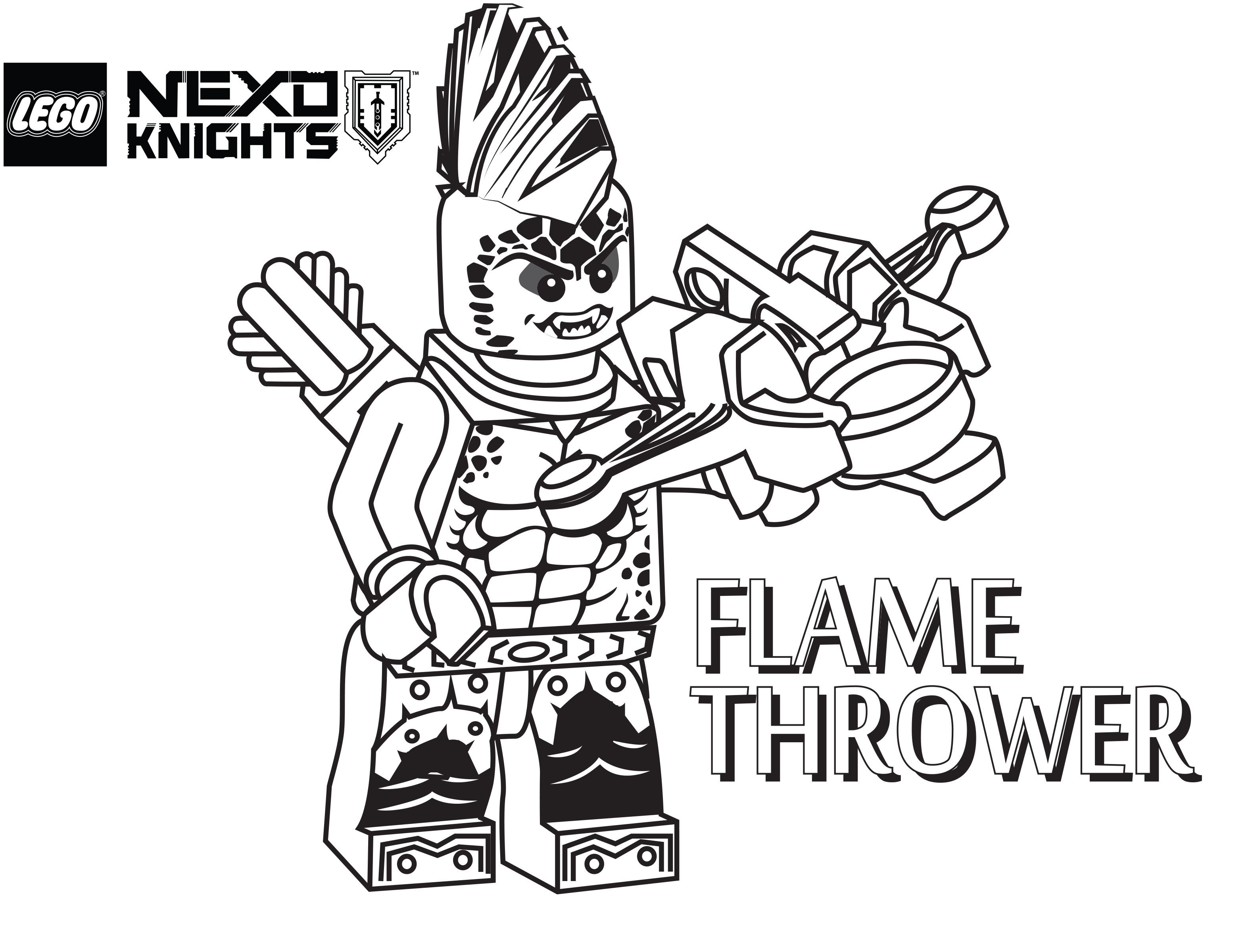 Nexo Knights Coloring Pages Collection - Whitesbelfast   2401x3156