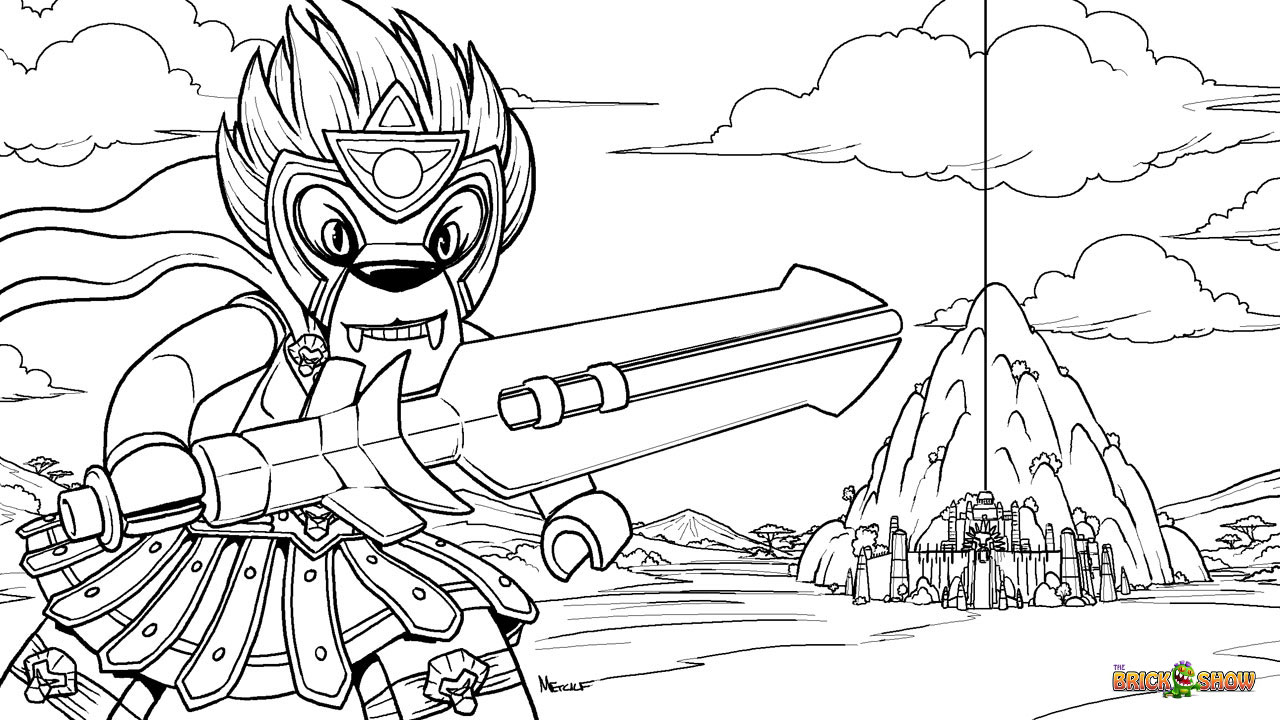 Lego Chima Gorilla Coloring Pages. coloring pages of ninjago cragger ...