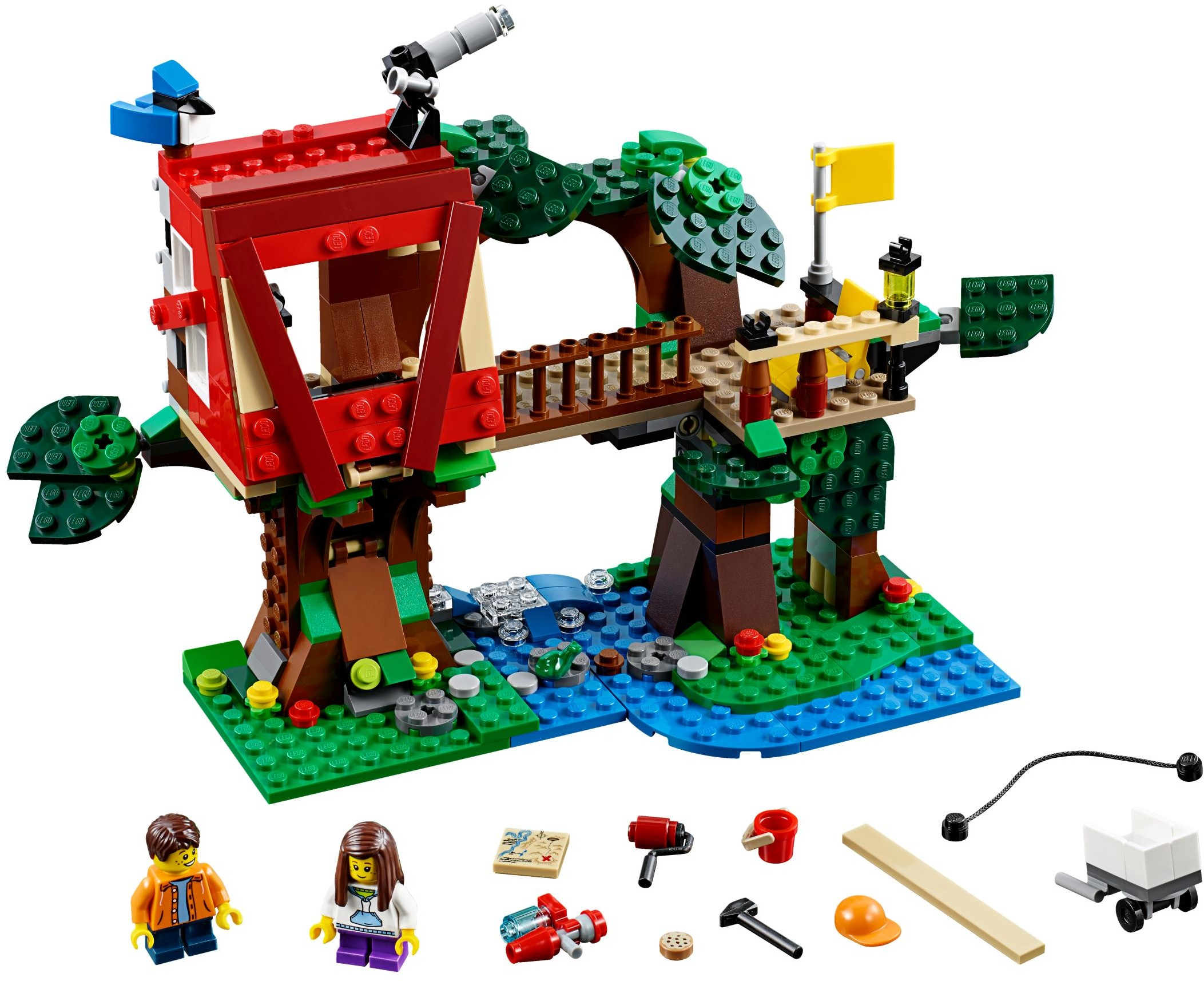 lego creator tree house adventures set review pictures lego 31053