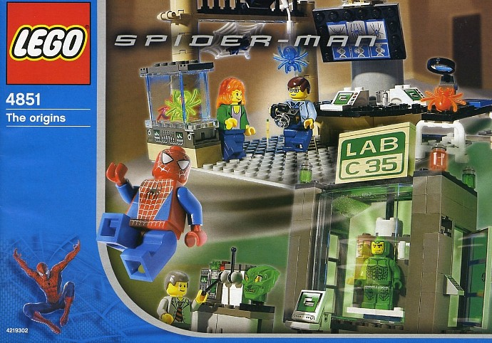 lego super heroes spider man and green goblin the origins set