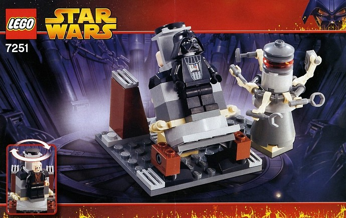 lego star wars darth vader transformation set review pictures lego