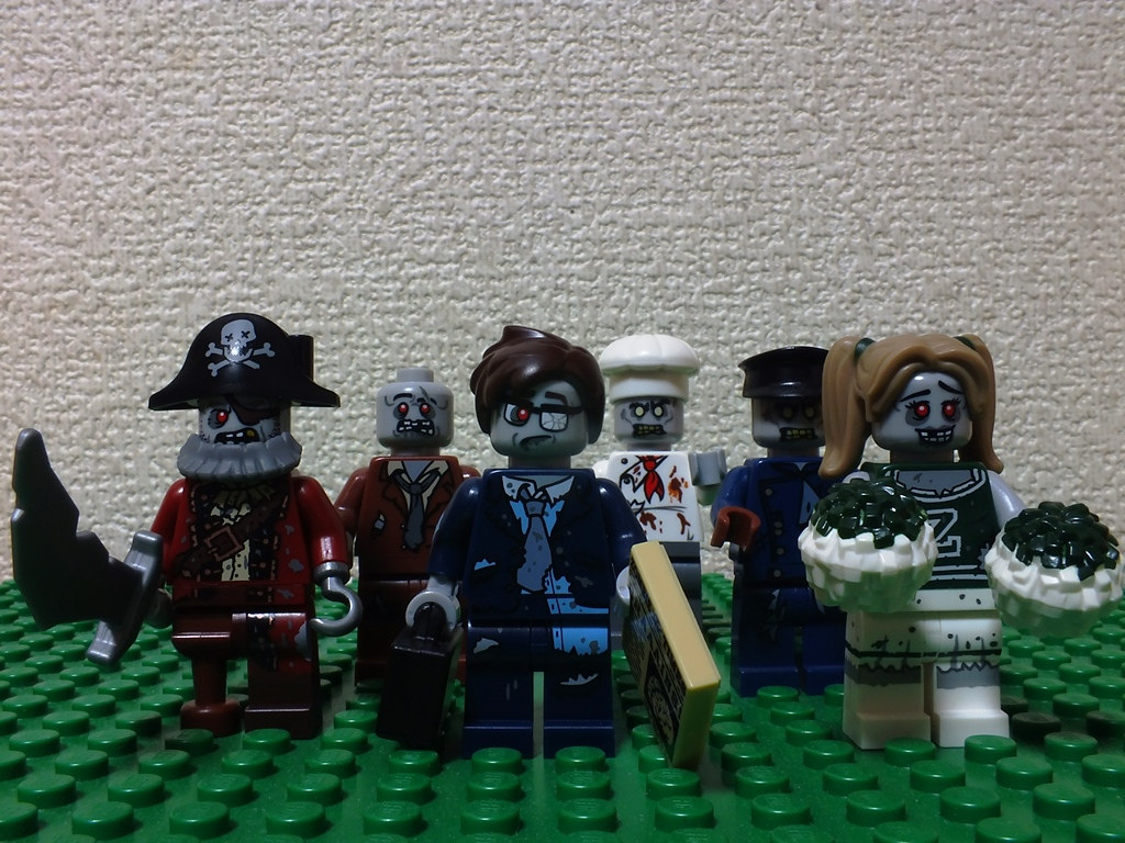 Dawn of the Lego Zombie Army