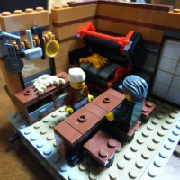 Building Lego Ninjago City – Part Seven