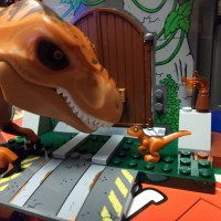 Having fun with Lego Dinosaurs