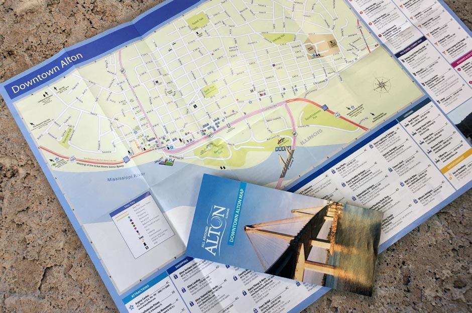 Downtown Alton Map