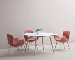 Phlox – A collection of collaborative chairs and tables inspired by nature