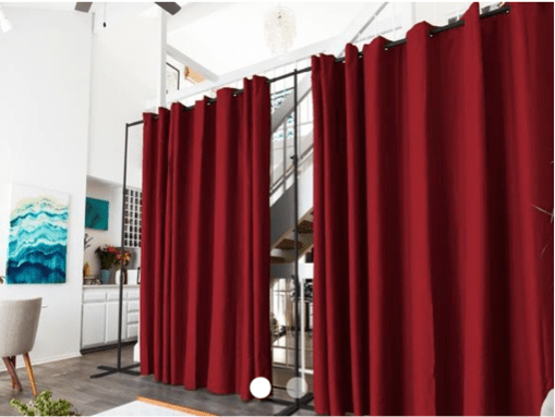 using curtain room dividers in your nyc